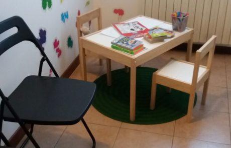 Area infanzia dello Studio di psicologia